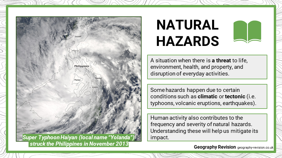 Geography Revision_Topic 1_Natural Hazards_ Intro_Presentation 2