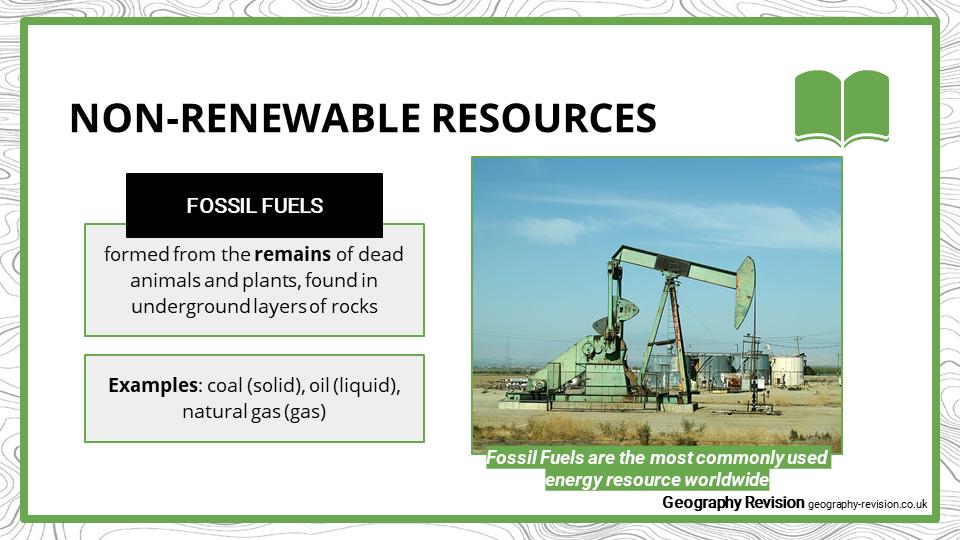 Renewable vs. Non-renewable - Presentation 1