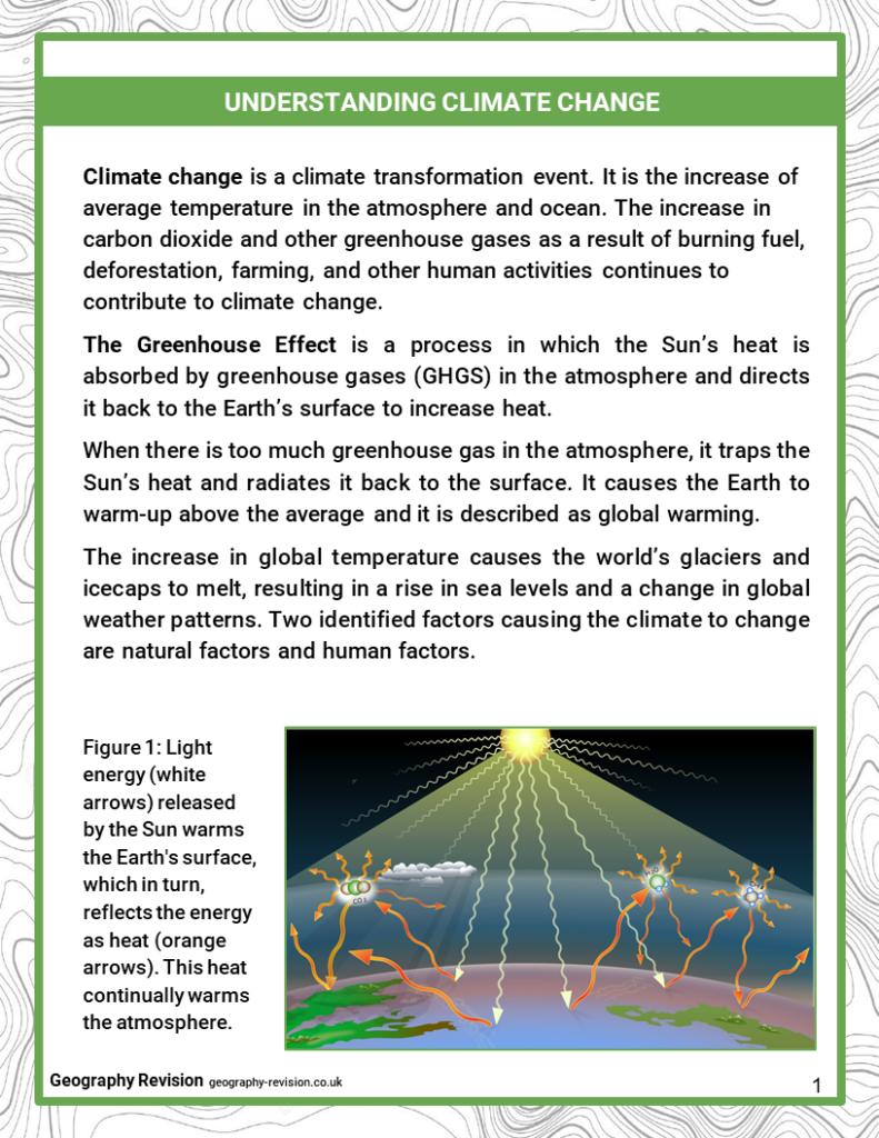 Climate Change - Revision Notes 1