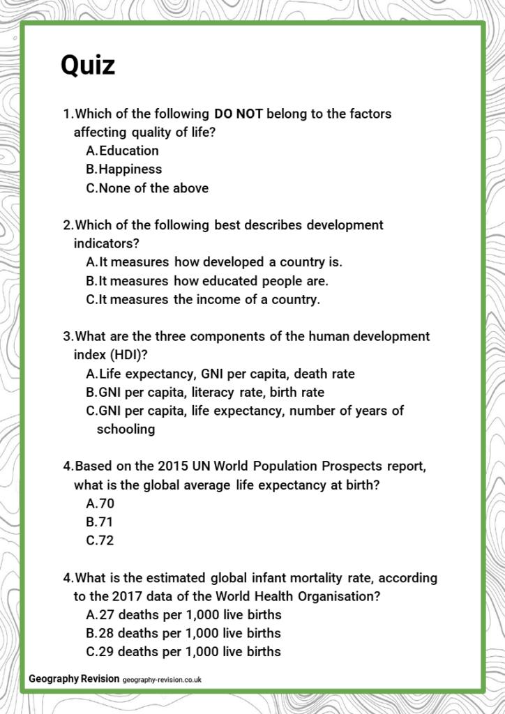Quiz_Topic 9.3_Population and Development